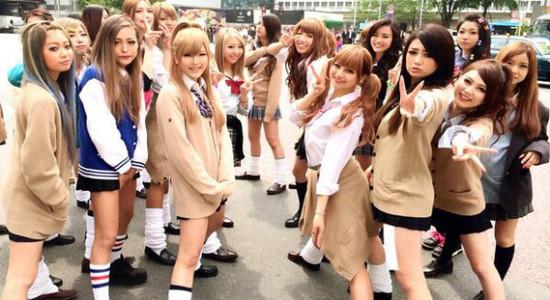 【JK学園祭エロ画像】ちょwwビッチばっかwwww女子校の学園祭がキャバ嬢の集まりにしか見えんwww その15